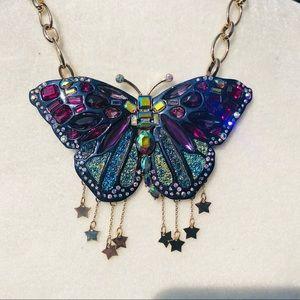 Jewelry - Betsey Johnson Butterfly Necklace